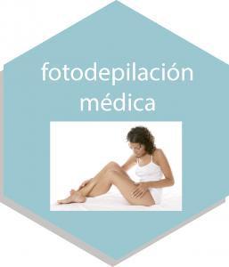 fotodepilación médica