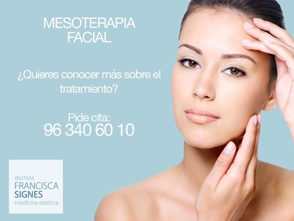 mesoterapia facial dra francisca signes